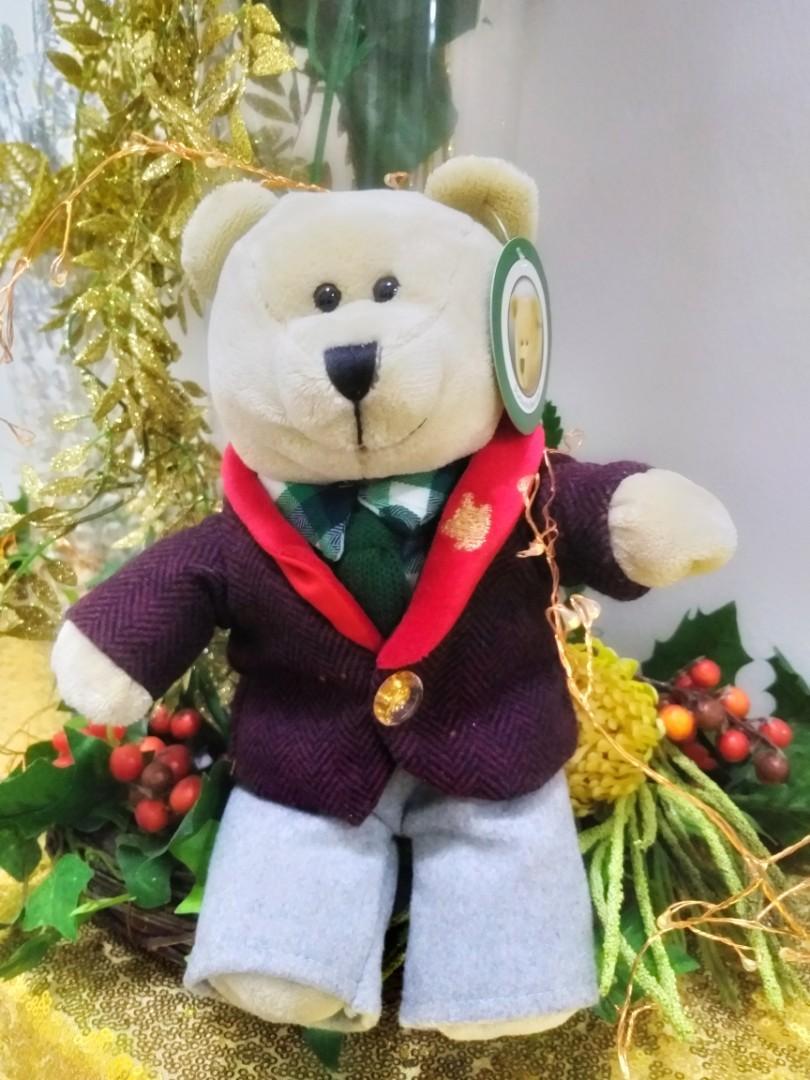 Starbucks Bearista Christmas 2017
