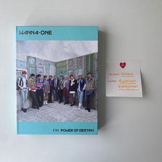 WANNA ONE 1st Album 1¹¹=1 (Power of Destiny) Unsealed Album