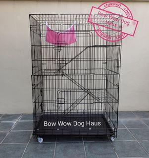 XL Four Layer Cat Cage Heavy Duty without  Hamock