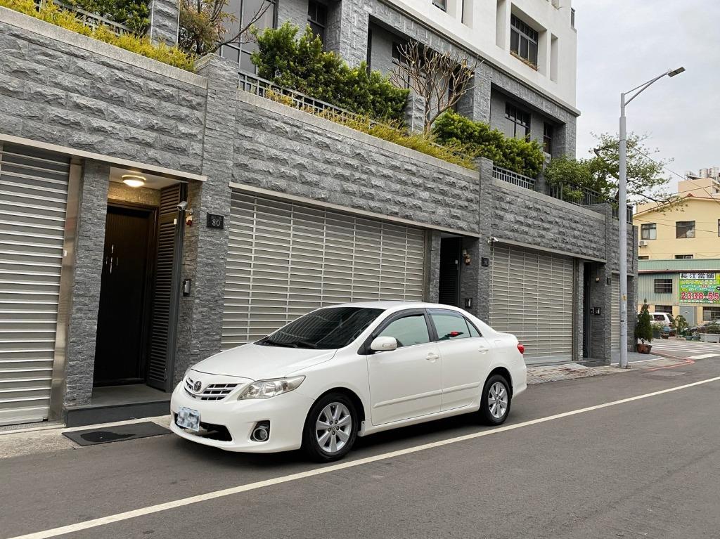 2012 Toyota Altis 1.8 白 🍅#里程數只跑5萬多 #完美車況 #國民神車