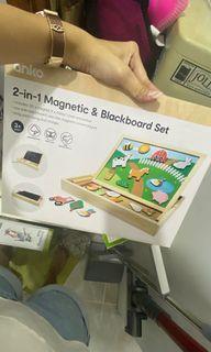 2-in-1 Magnetic Board Set