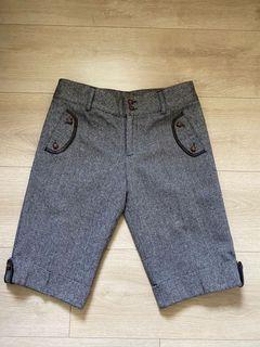 日本製毛料短褲