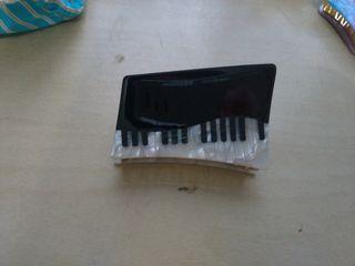 鋼琴造型髮夾