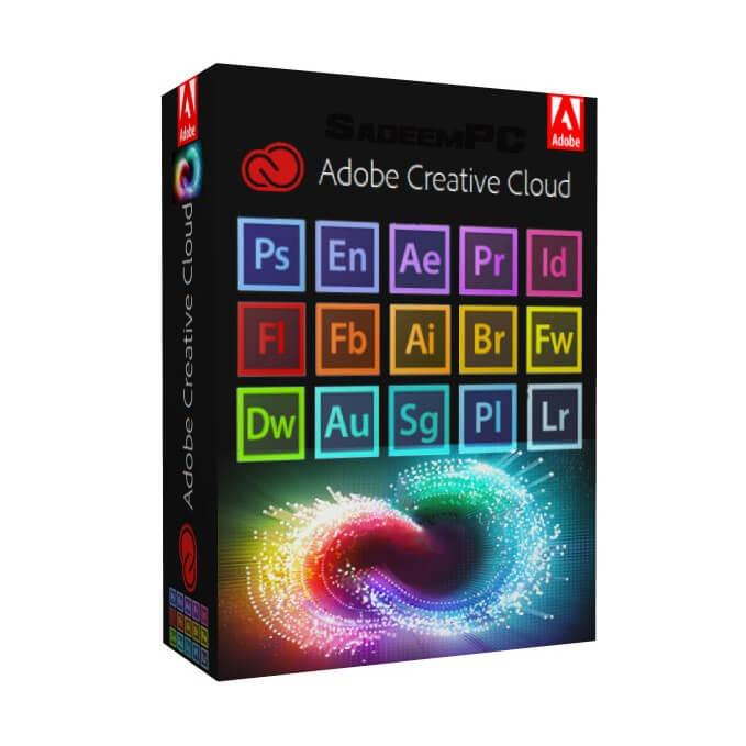 Adobe Creative cloud (one payment for lifetime)