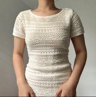 Asos crochet summer dress