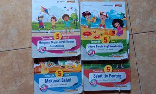 Buku tematik kelas 5 SD  Kurikulum 2013