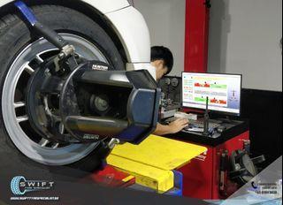 Car Wheel Alignment 2 and 4 wheel