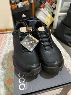 Ecco 男休閒鞋 超軟超好穿(高爾夫球鞋)Gore-TEX 防水(無釘)