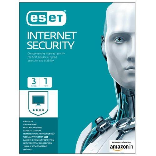 ESET internet security (1 Device with 3 years subscription)