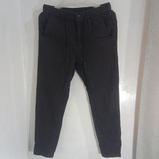 Fashion Garterized w/ Cord Trouser Pants