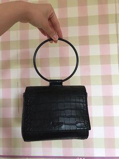 Guess Handbag Black (Ring Handle)