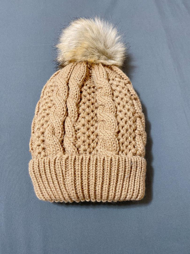 LA EXPRESS knit beanie warm inside