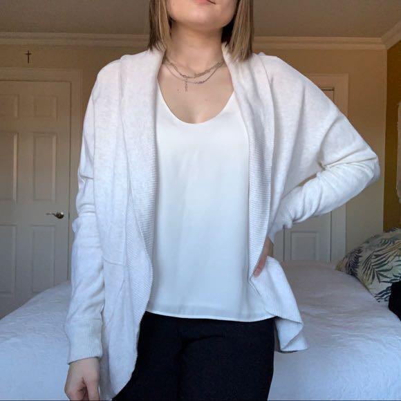 Off white cardigan