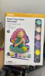 Paint Your Own MErmaid