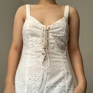 "Sabo Skirt ""Sabo Luxe"" Kayla Eyelet Slip Dress"