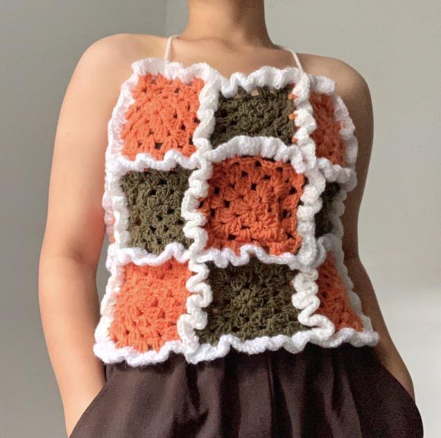 Super unique crochet top