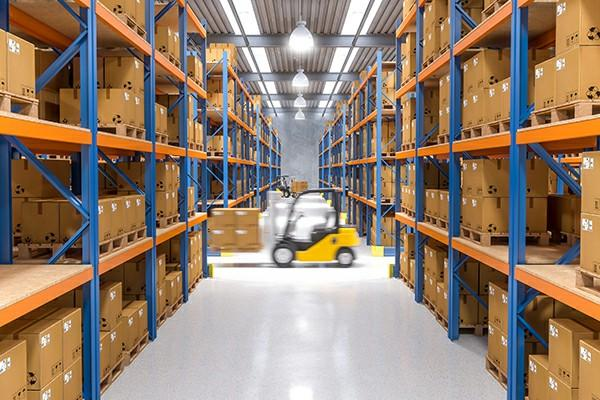 Driver warehousing and delivery