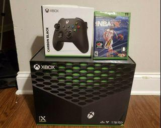 XBOX SERIES X BUNDLE WITH NBA2K21 BRAND NEW, Sony PlayStation 5 Console PS5 Standard Disc Version Brand New Sealed.