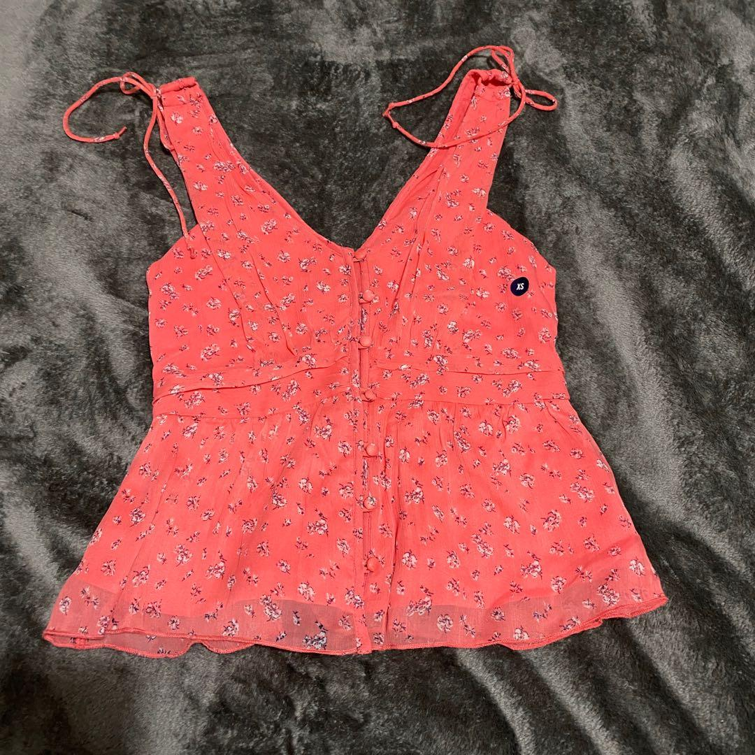 Abercrombie & Fitch Floral Blouse Size XS