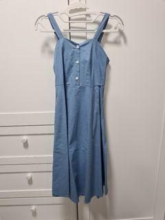 Blue Ribbon Dress
