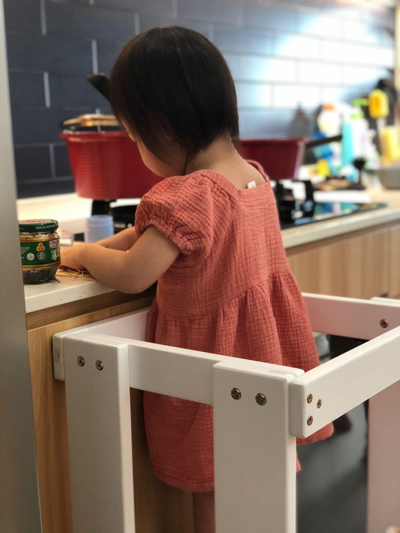 Bn Kitchen Step Stool For Kids Babies Kids Cots Cribs On Carousell