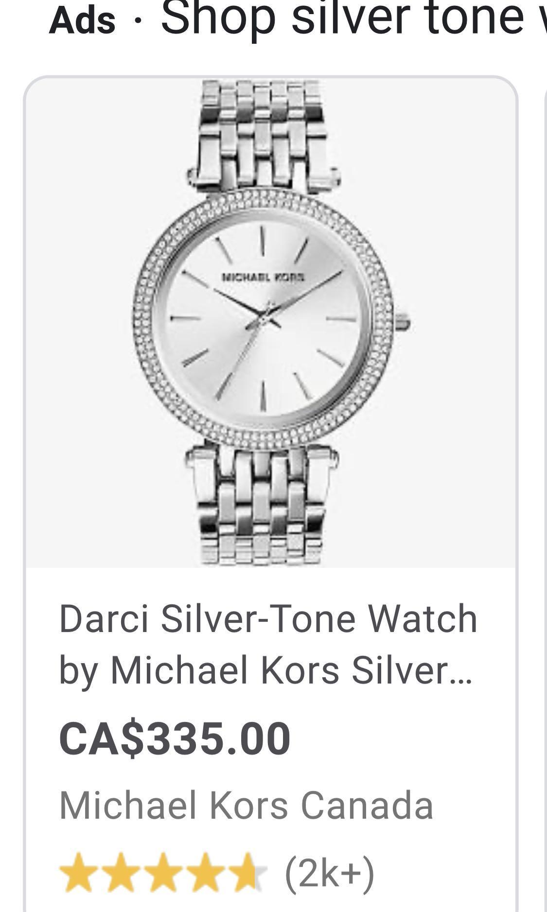 Brand new authentic Michael Kors watch