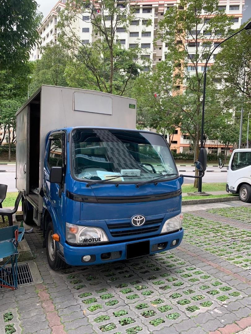 Cheap 10Ft Box Lorry Rental