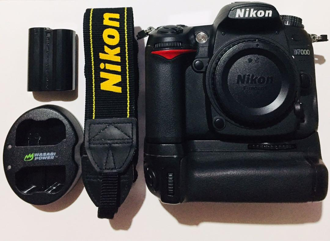 D7000 with MB-D11 battery grip (RUSH, NEGOTIABLE)