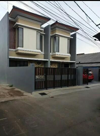 Dijual Rumah Baru 2 Lantai Minimalis di Bambu APUS Jakarta timur