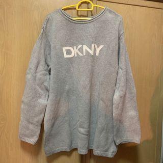 DKNY 灰色 長袖上衣 古著 vintage