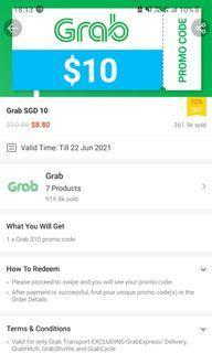 Grab Transport $10