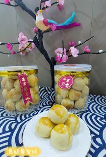 Homemade pineapple tarts - Charcoal/original/cheese
