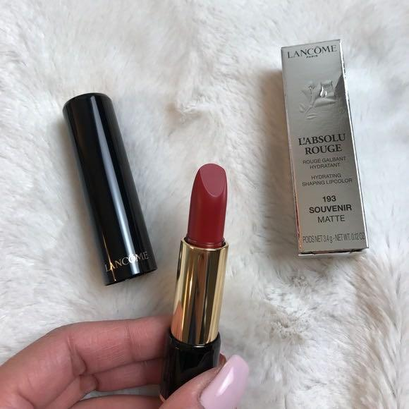 Lancôme lipstick (shade: 193)