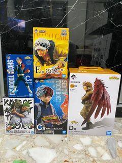 MHA One Piece figures
