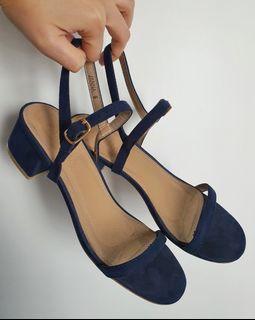 Parisian Blue Janna Sandals
