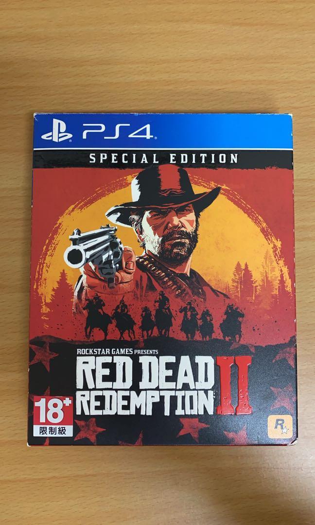 Red redemption 2 碧血狂殺2 注意⚠️只有特典 ps4