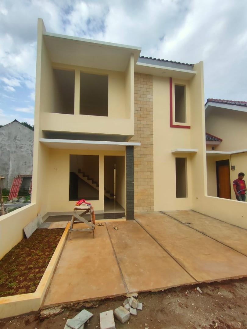 Rumah Baru 2 Lantai Minimalis dalam Cluster kwalitas terjamin Harga Murah Mulai 500 jutaan, Lokasi di atas Perumahan Asabri Jatiluhur Jatiasih