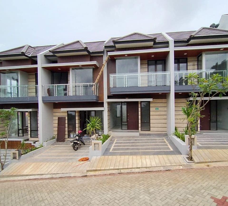 Rumah Cluster Baru Siap huni di Bintaro Ciputat bisa KPR dan custom denah ruangan