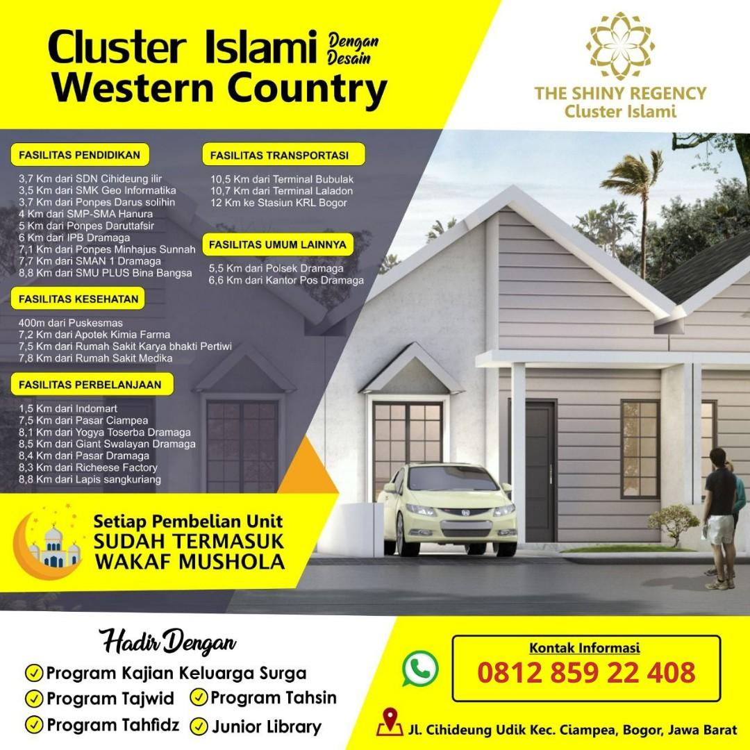 Rumah Tinggal The Shiny Regency - Cluster Islami