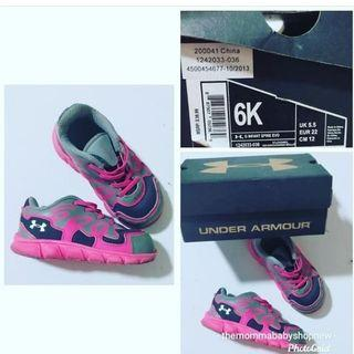 Sale at 399 only!!! Original Under Armour Shoes! Fits 13cm and below!