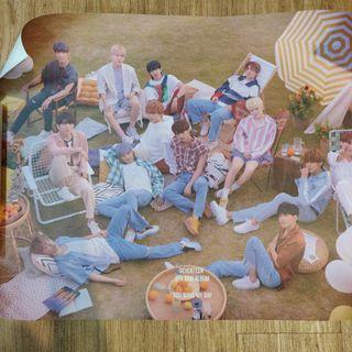 [BUNDLE] SEVENTEEN YOU MAKE MY DAY POSTERS