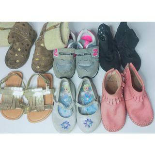 Take all for 799 only! Shoes for Little Girls!