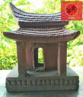 Terakota Candi Miniatur Majapahit Handmade (Buatan Tangan)❤❤❤