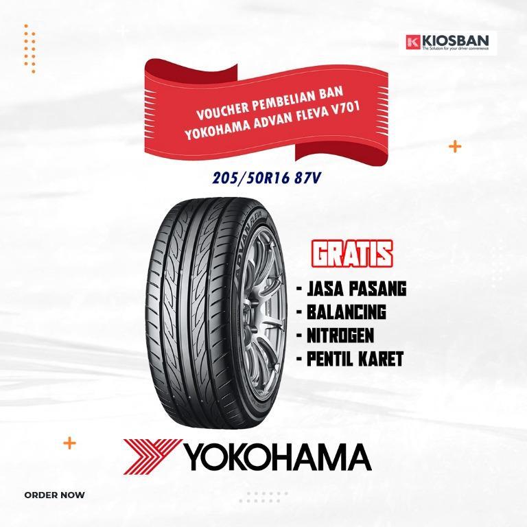 YOKOHAMA ADVAN FLEVA V701 205/50R16 87V Ban Mobil