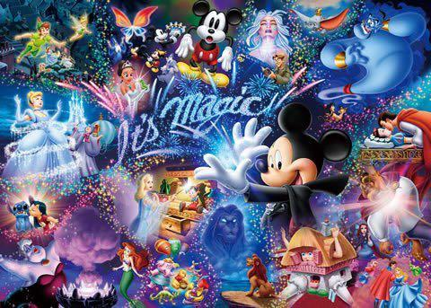 1000 pieces It's Magic Tenyo Jigsaw Puzzle