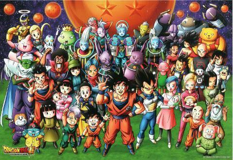 1000 pieces of Dragonball Z Hyper Group Photo Ensky Jigsaw Puzzle