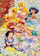 300 pieces Floral Princesses Disney Tenyo Jigsaw Puzzle
