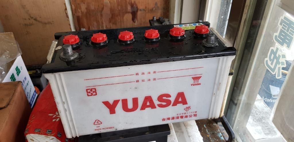 (二手中古電池) YUASA 115E41R (95E41R加強) 汽車電池 數值漂亮,品項優 貨車電池/堅達/勁旺