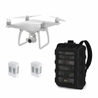 Bisa CiciLan DJI Phantom 4 Quadcopter With Lowepro CS400 Backpack + 2 Battery Spare