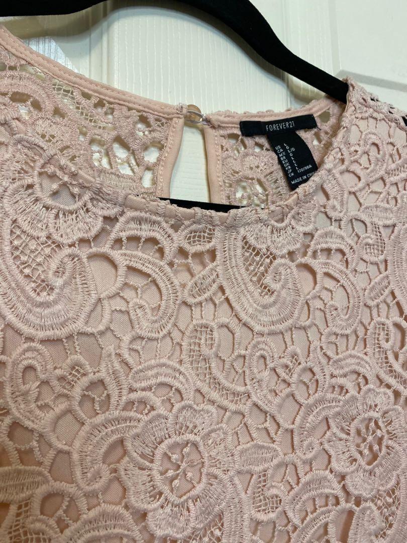 Blush Pink Floral top